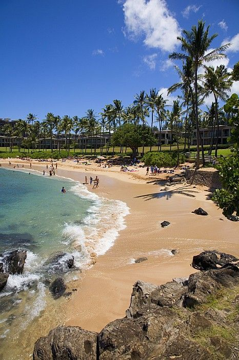 Kapalua Beach resort, Maui, Hawaii.I want to go see this place one day.Please check out my website thanks. www.photopix.co.nz