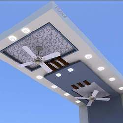New Ceiling Design With Two Fans 2021