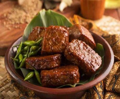 Resep Tempe Tahu Bacem Bumbu Pedas Gurih Food Recipes Beef Short Rib Recipes