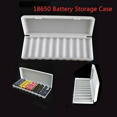 10Pcs Plastic Battery Storage Case Box Holder with wire leads For 1 X AA