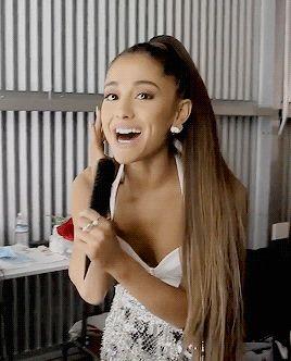 My Baby Loves Me Ariana Grande Smiling Ariana Ariana Grande