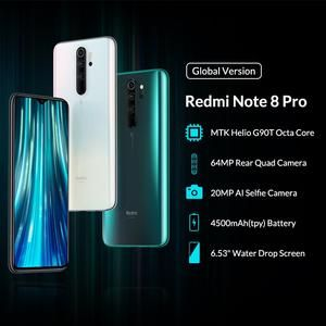 Global Version Xiaomi Redmi Note 8 Pro 6gb 64gb Mobile Phone 64mp Quad Shop Peterpan