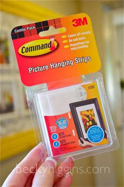 How To Hang Pictures Without Using Nails Command Strips Nail