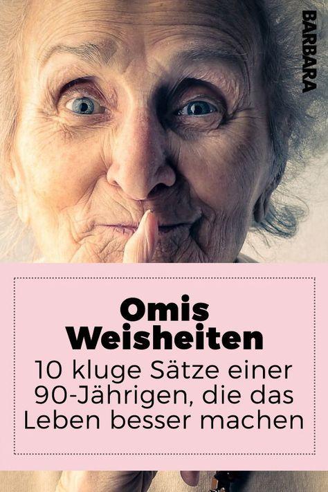10 kluge Sätze einer 90-Jährigen, die dein Leben besser machen.  Es gibt sie noch, die wirklich weisen Menschen. Man erkennt sie an den Lachfalten, dem verschmitzten Blick und einem unerschütterlichen Optimismus. Meine Oma Hilde ist eine von ihnen. Und das sind ihre besten Weisheiten: