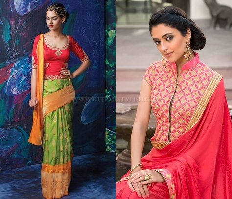 ae9d15393ba376 Saree Blouse Designs For Winters. Saree Blouse Designs For Winters.  Подробнее... 5 Stylish Blouse Designs to Try This Winter