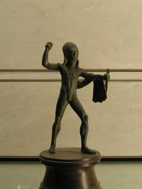 Hercule (Etrurie - 5eme av JC) (musee de Lyon).