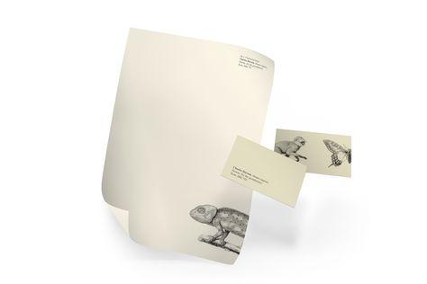 Historical Figures' Letterheads - Charles Darwin