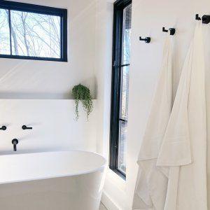 Rough Cast Black Towel Hook Reviews Cb2 Black Towels Towel Hooks Bathroom Towel Hooks
