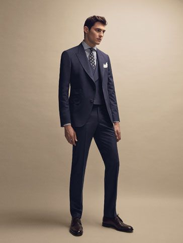 Men S Limited Edition At Massimo Dutti Online Enter Now And View Our Fall Winter 2017 Limited Edition Collection Effo Mens Fashion Suits Mens Outfits Fashion