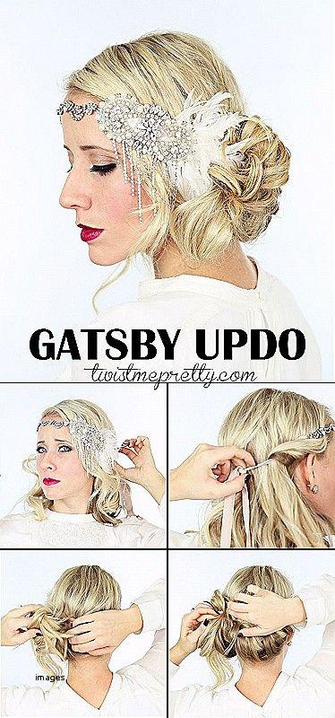 Super Flapper Girl Frisuren Fur Langes Haar Neueste Frisuren 2018 Gatsby Frisuren Vintage Hochzeit Frisuren 20er Jahre Frisur