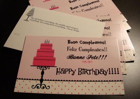 Vista Print Birthday Cards
