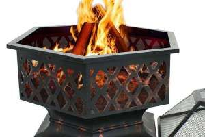 F2c Outdoor Hex Shape Fire Pit Review Features Vs Users Opinion Fire Pit Rectangular Fire Pit Fire Pit Lighting