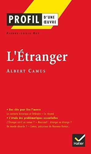 Telecharger L Etranger D Albert Camus Profil D Une Oeuvre Livre Pdf Author Publisher Livres En Ligne Pdf L Albert Camus L Etranger Albert Camus Livres A Lire