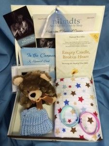 Care Package $50 value can include babies name in memory for donation.