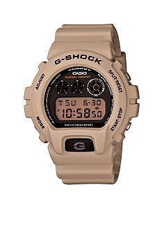 G-Shock Sand Colored Classic Digital Face Watch #belk  #gifts #men