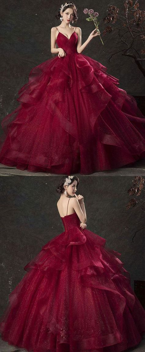 278b06297a1 List of Pinterest quinceaneras dresses burgundy sweet 15 pictures ...
