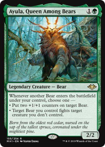 Ayula Queen Among Bears X4 Magic The Gathering 4x Modern Horizons