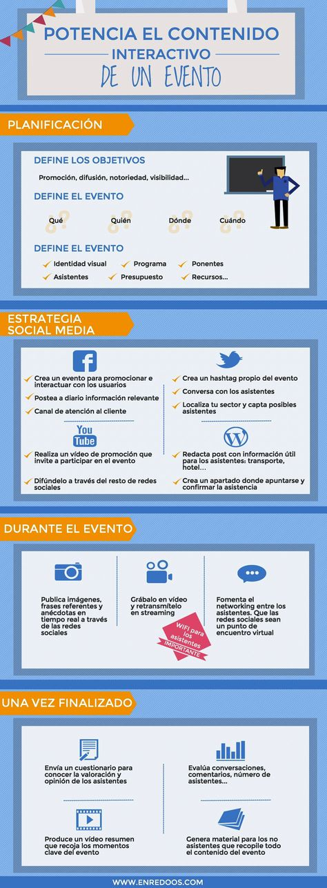 Promociona tu evento en internet #RedesSociales #Eventos #promocion