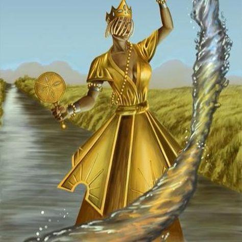 Orisha Oshun: Goddess Of Water Element Energy