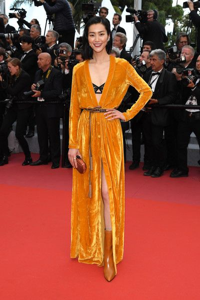Liu Wen Photos Photos Solo A Star Wars Story Red Carpet Arrivals The 71st Annual Cannes Film Festival Red Carpet Fashion Red Carpet Dresses Cannes Film Festival