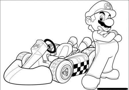 Mario Games Ausmalbild Ausmalbilder Ausmalbilder Kinder Ausmalen