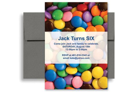candy invitations Children Candy Party Microsoft Word Birthday - invitation templates word