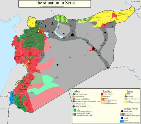 Ethno-religious division of Syria into Secular Syria, Saudi Salafist - best of world map hungary syria