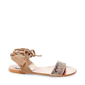 SHANEY | Tie up sandals, Sandals, Miller sandal