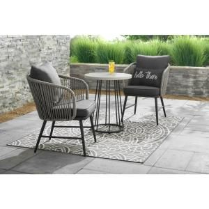 New Roma Bistro Set Small Outdoor Furniture Bistro Table Outdoor Outdoor Patio Set
