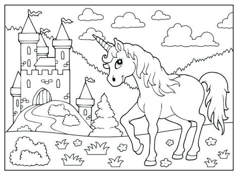 Coloriage Licorne A Imprimer Imprim On Coloriage Licorne Et Fee A