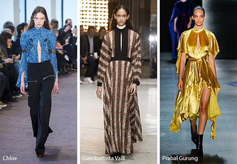 Some of the major fall/ winter fashion trends are suits, loose trousers, and big-shouldered jackets and blazers.