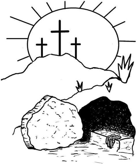 16++ Religious easter clipart black and white info