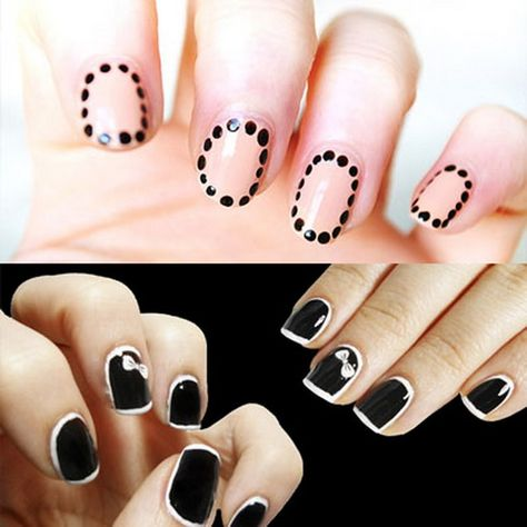 Creative Hot Fashion New Year Eve Nail Art Designs 2013  Family Holiday