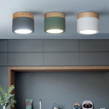 Moderne Einfache Decke Lichter Eisen Acryl Beleuchtung Innen