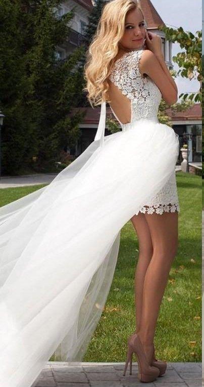 2020 New Princess Sheath Wedding Dress Lace Appliqued Wedding