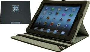 NEW!! Ladies Auxiliary iPad cover. The IntelliCover function wakes your iPad up when opened, and puts it to sleep when closed.  Compatible with iPad 2/3/4. Only $22.50