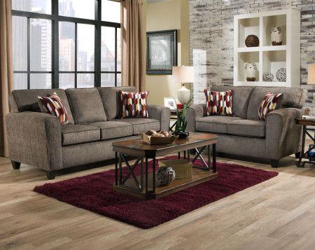 Mickey Pewter Sofa Loveseat Loveseat Living Room Bedroom Furniture For Sale Discount Bedroom Furniture