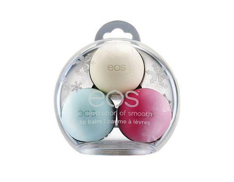 Lip balms, eos US$9.99 / Baumes à lèvres, eos 9,99 $US