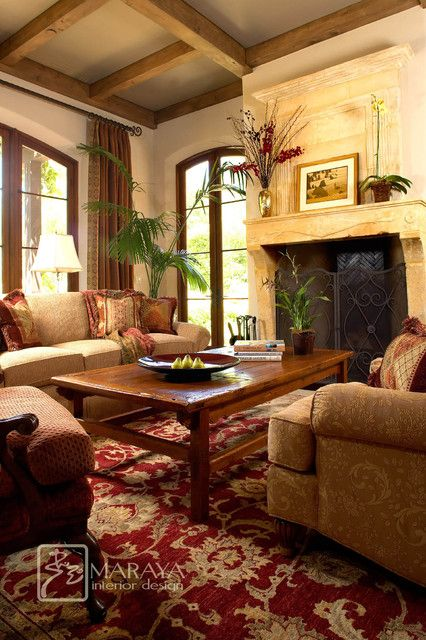 16 Gorgeous Living Room Design Ideas In Mediterranean Style With