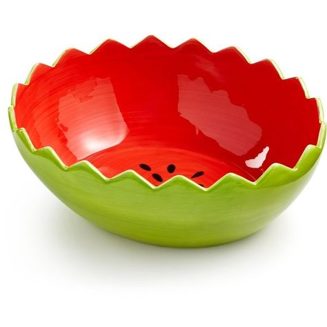 Martha Stewart Collection Ceramic Watermelon Bowl 22 Liked