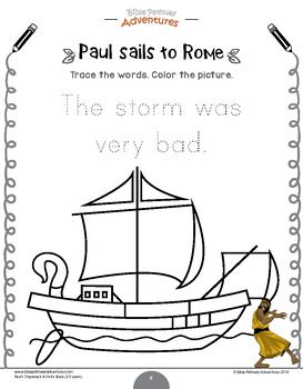 Freebie Paul S Shipwreck Activity Pack For Beginners Shipwreck