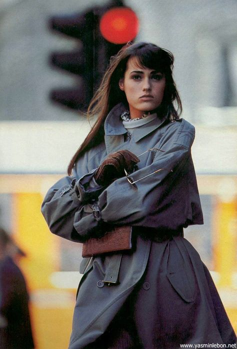 """Chic In Città"", Marie Claire Italia, October 1987"