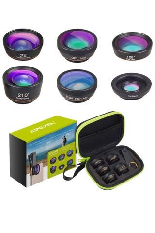 Kit 6 En 1 Lentes Para Camara De Movil Por 17 99 En Alicante En