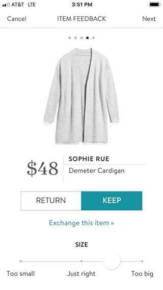 Sophie Rue Demeter Cardigan | Stitch fix, Stitch, My style