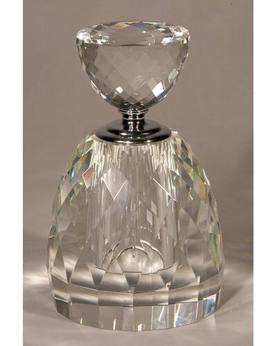 Multi Faceted Parfum Decorative Bottle Willa Arlo Interiors In 2020 Crystals Perfume Bottles Transparent Flowers