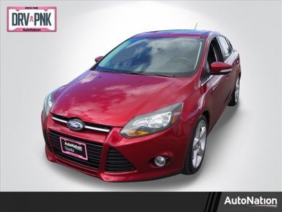 Used 2014 Ford Focus Titanium Sedan For Sale In Centennial Co