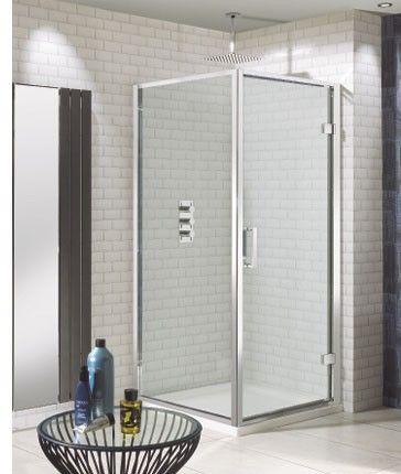 Click Hinged Shower Door Bathroom Shower Doors Shower Enclosure Bathroom