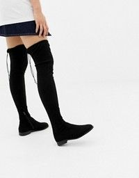 New Look Over The Knee Flat Boot