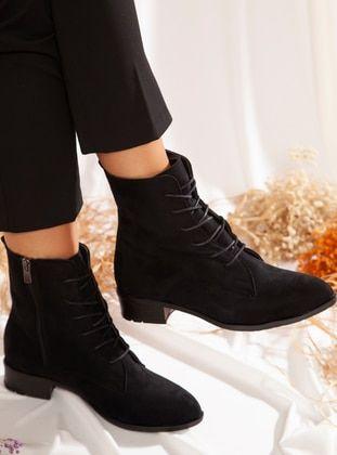 أسود بوت جزمة بوتات Black Boots Combat Boots Boots