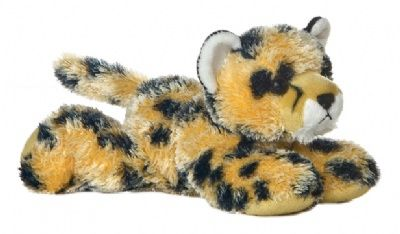 Streak the Cheetah (Mini Flopsies) at theBIGzoo.com, a family-owned toy store.